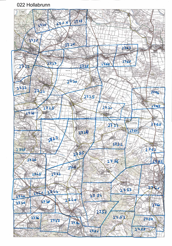 1958-1973 Karte 022 Schwarz/Weiß