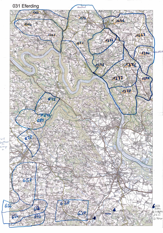 1958-1973 Karte 031 Schwarz/Weiß