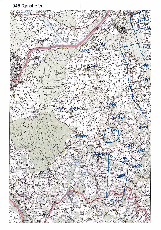 1958-1973 Karte 045 Schwarz/Weiß