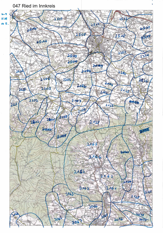 1958-1973 Karte 047 Schwarz/Weiß
