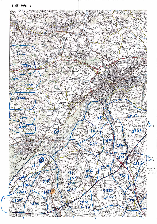 1958-1973 Karte 049 Schwarz/Weiß