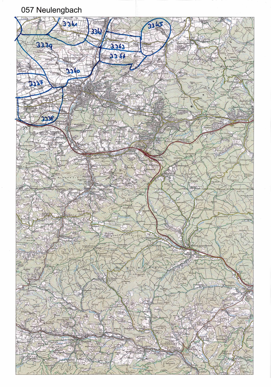 1958-1973 Karte 057 Schwarz/Weiß