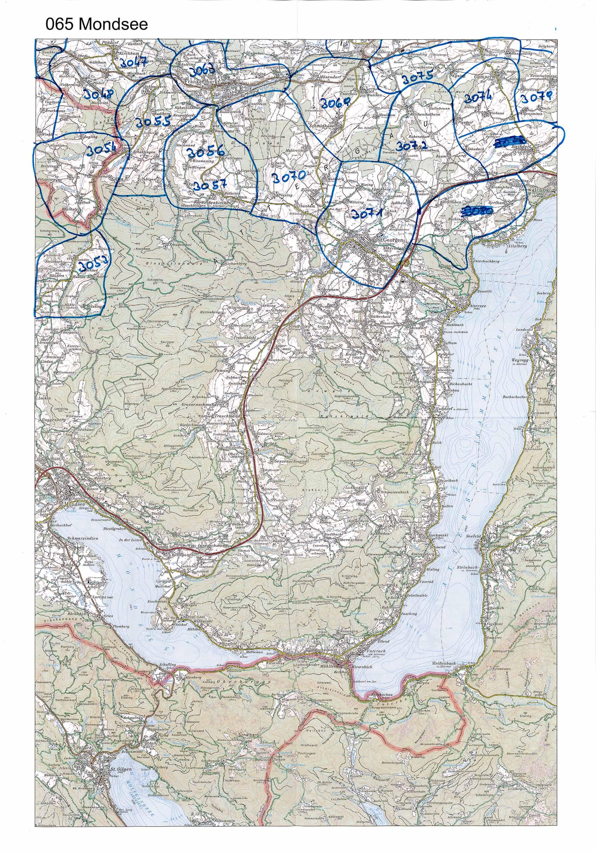 1958-1973 Karte 065 Schwarz/Weiß