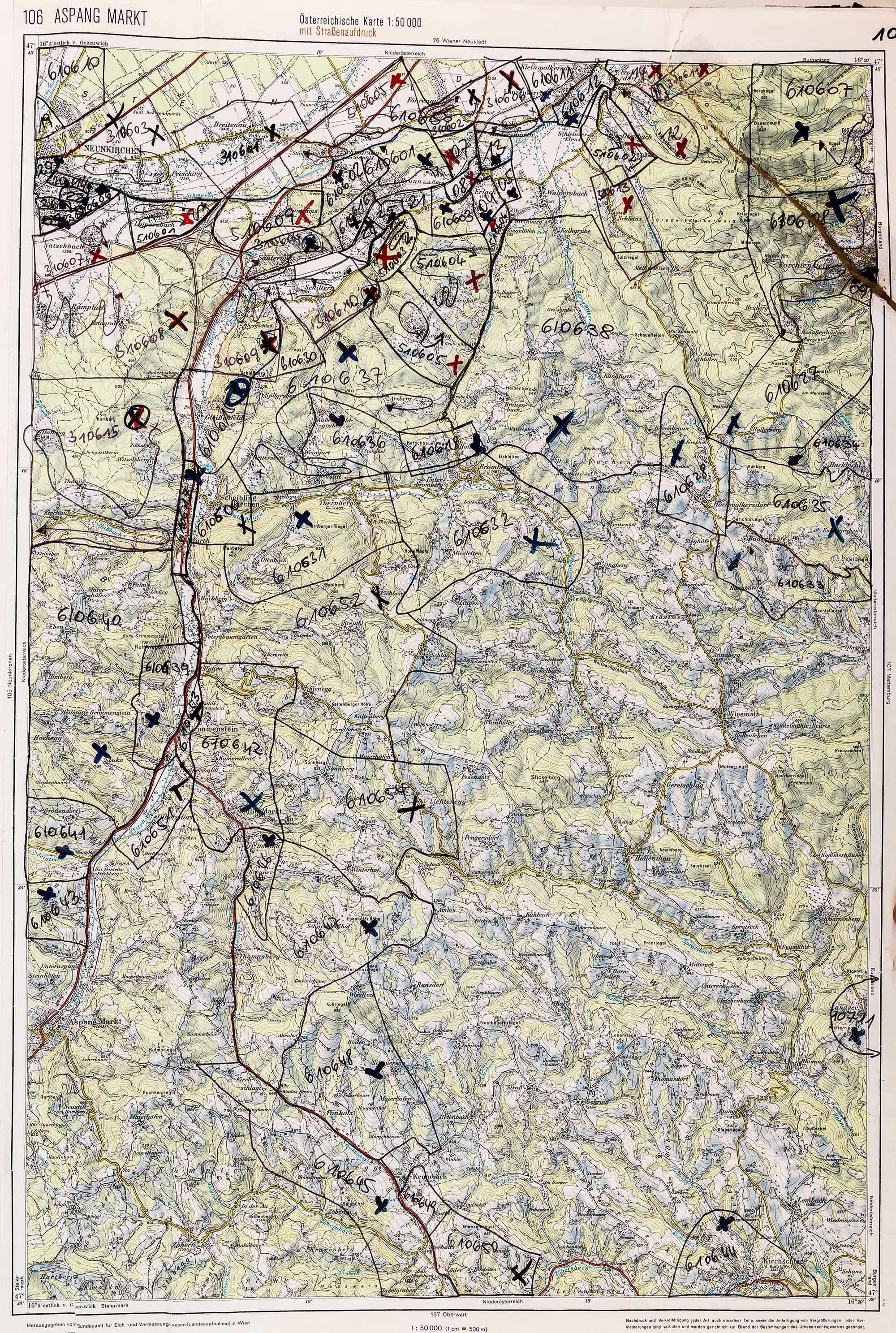 1983-1986 Karte 106
