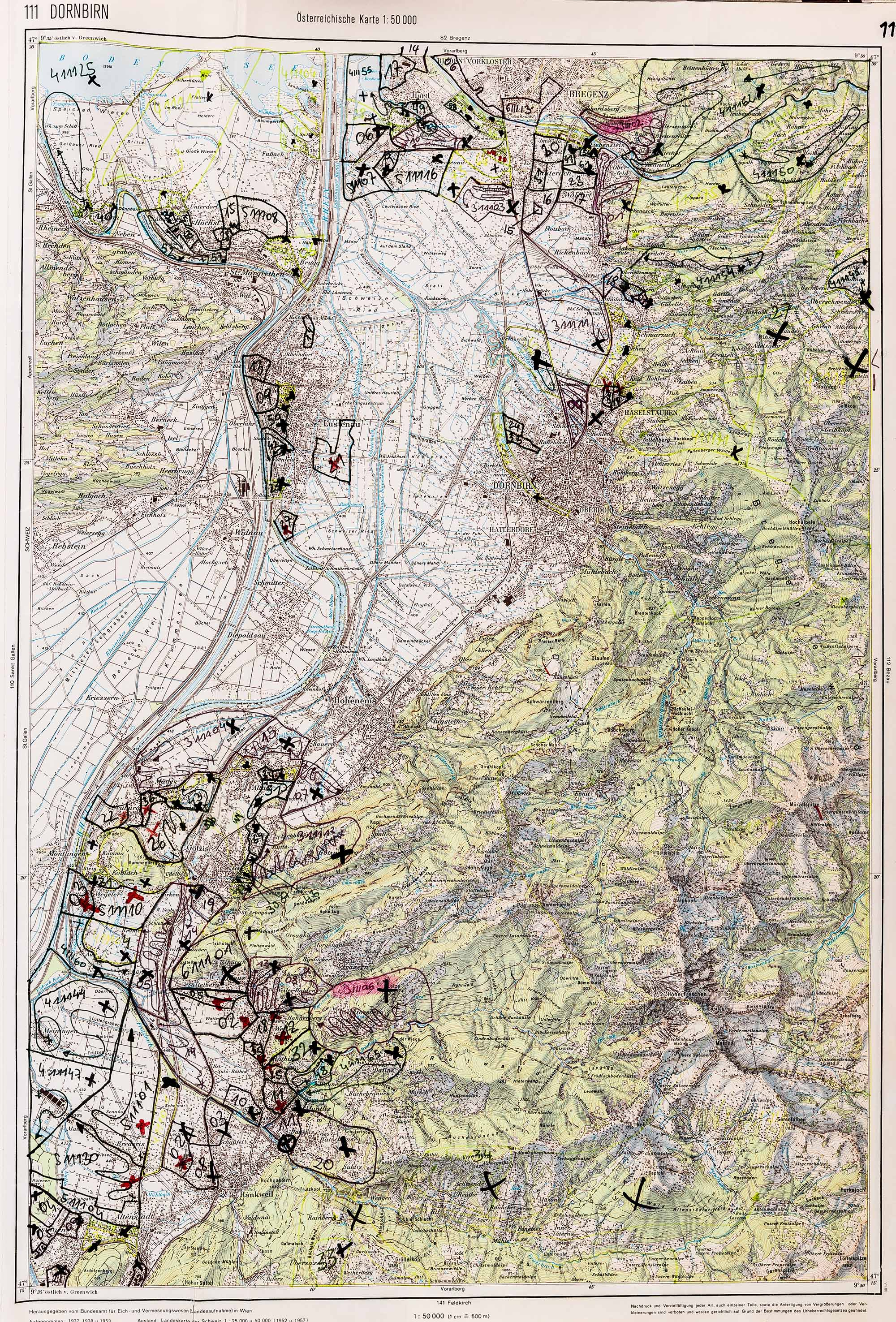 1983-1986 Karte 111