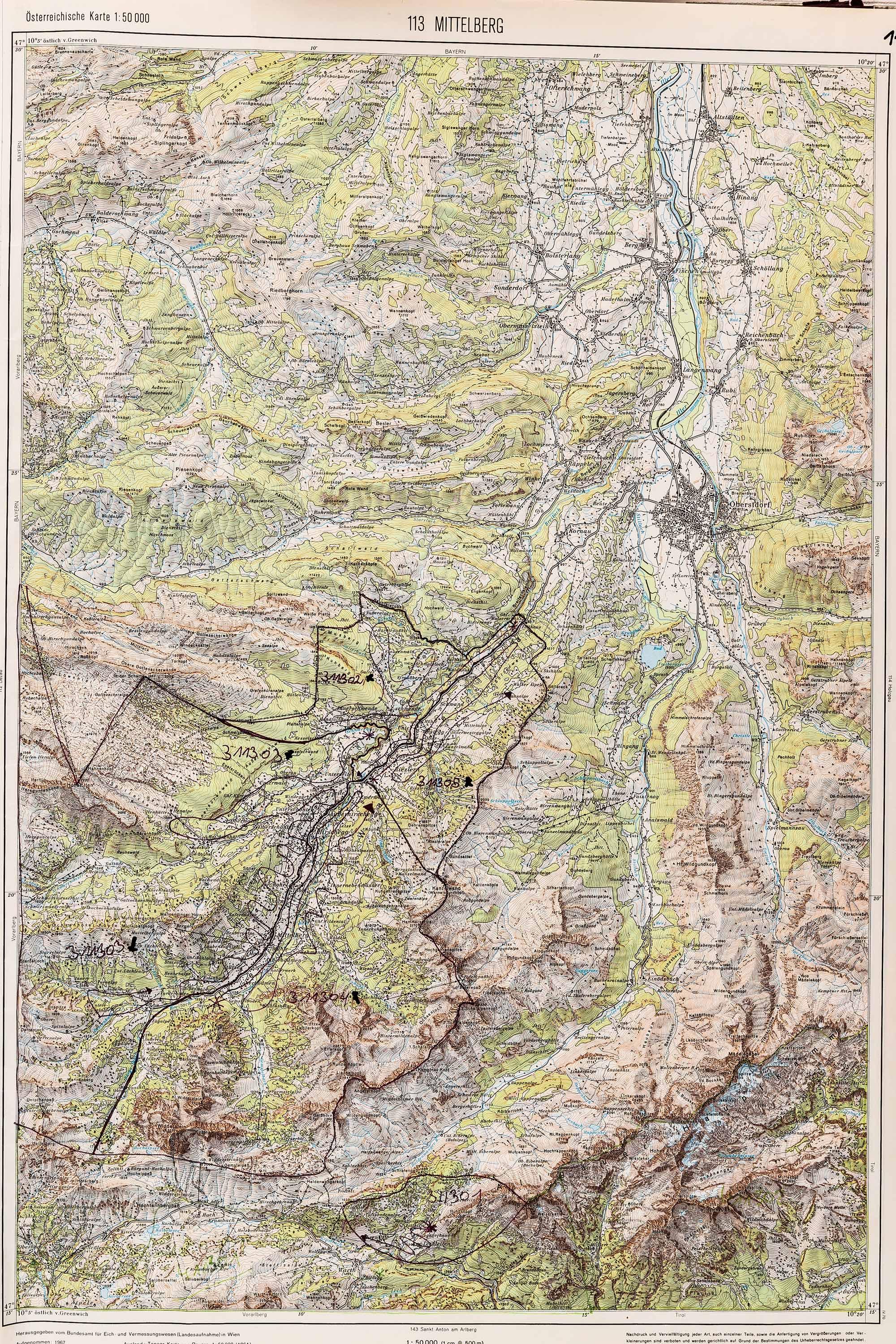 1983-1986 Karte 113
