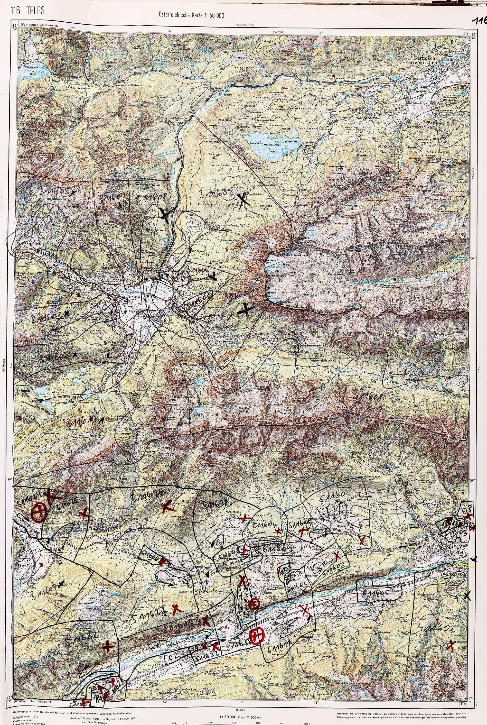 1983-1986 Karte 116