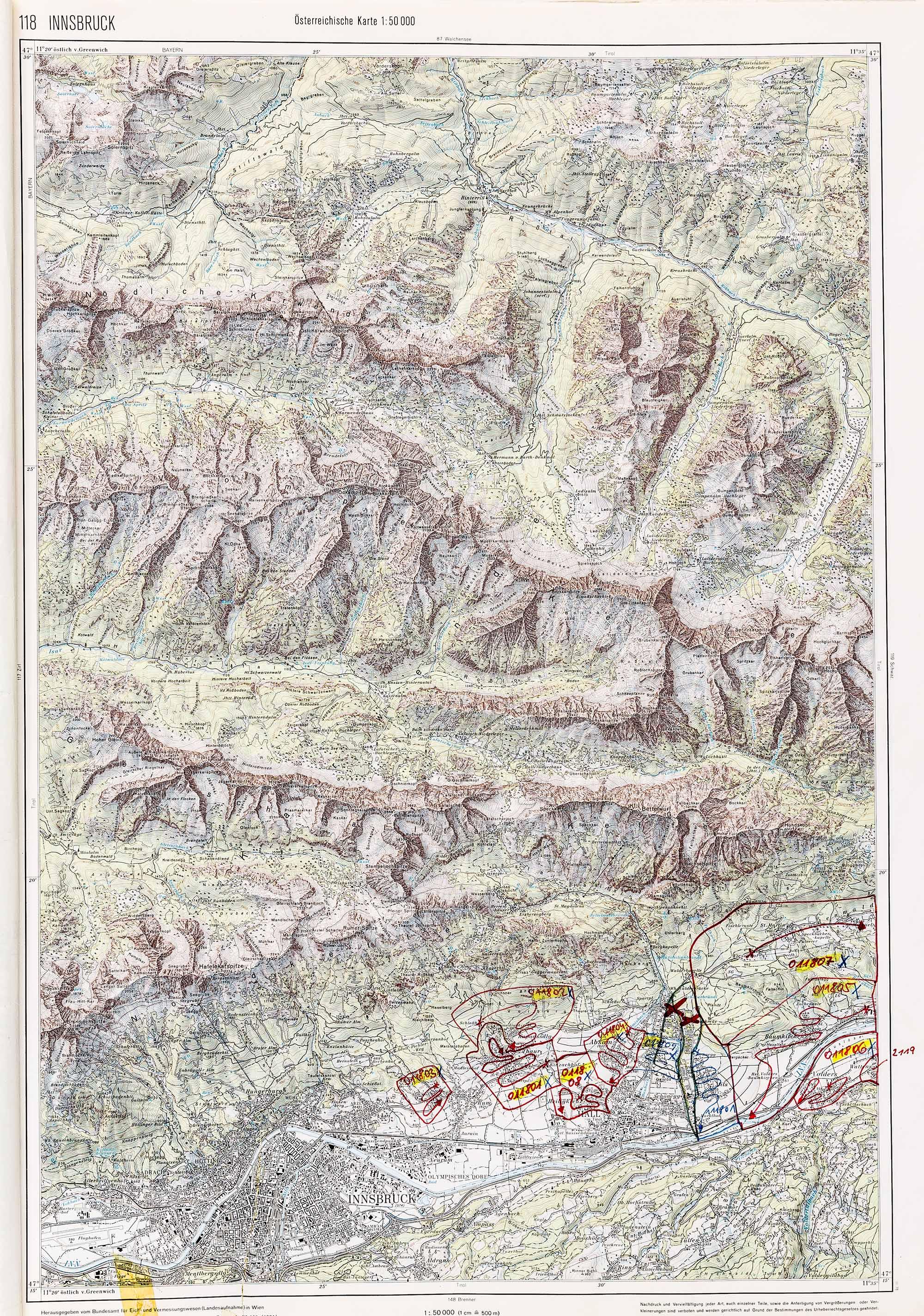 1979-1982 Karte 118