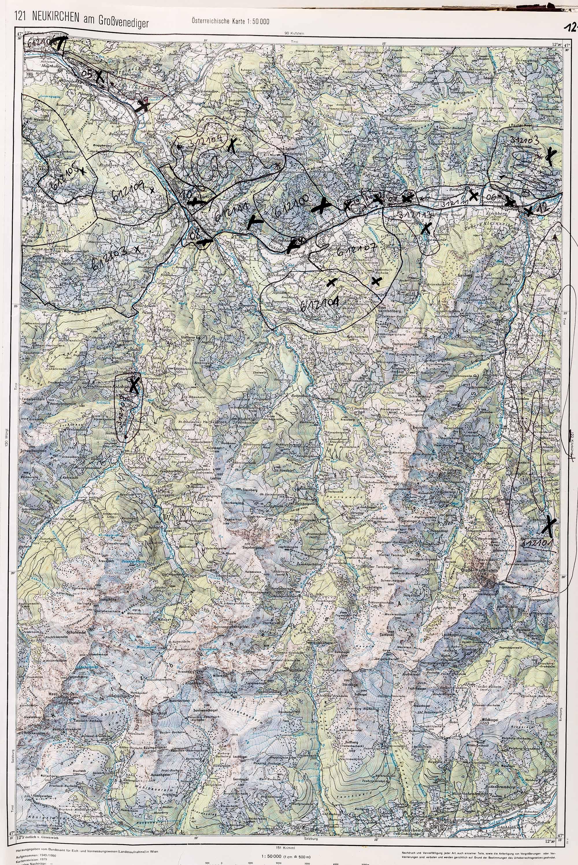 1983-1986 Karte 121
