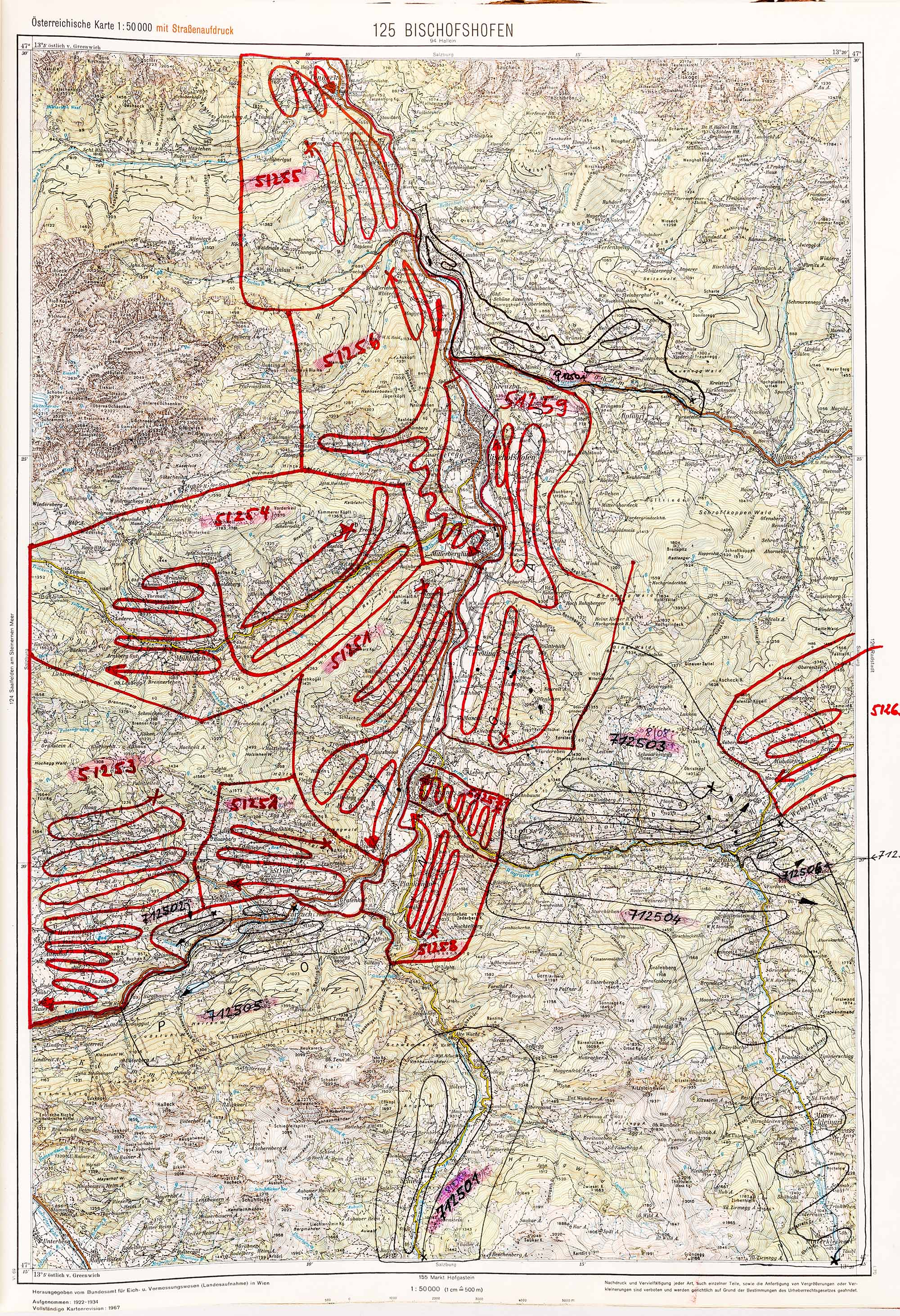 1975-1979 Karte 125