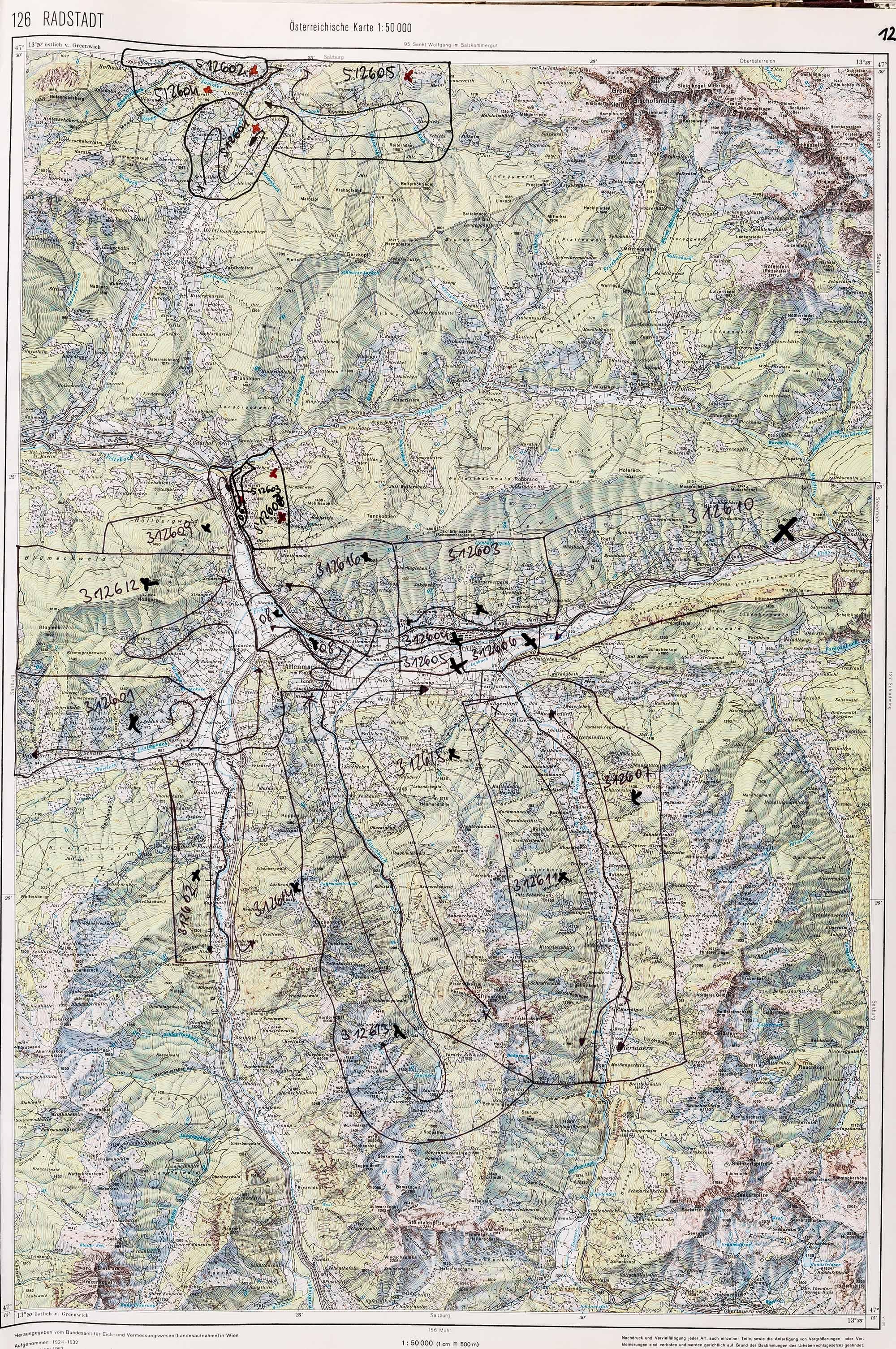 1983-1986 Karte 126