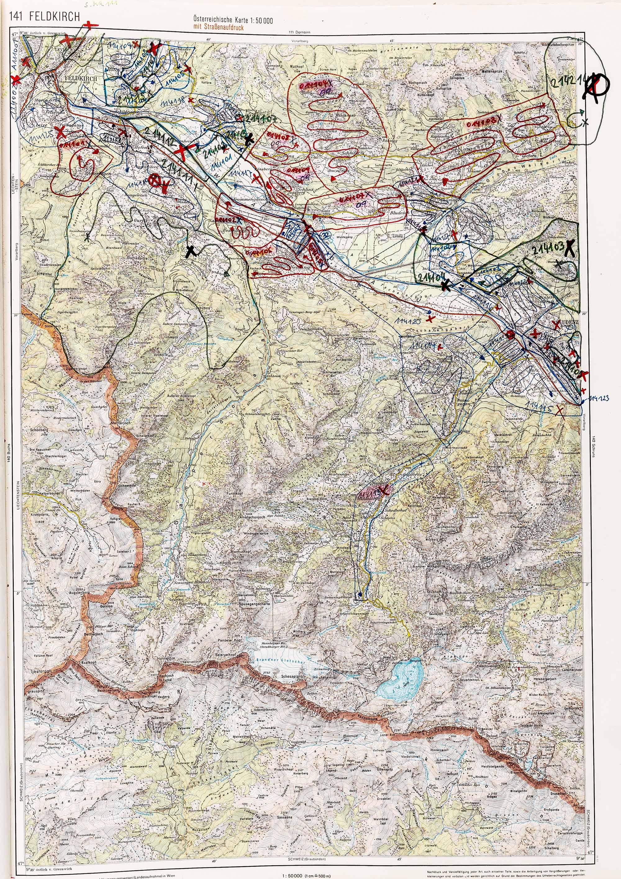 1979-1982 Karte 141