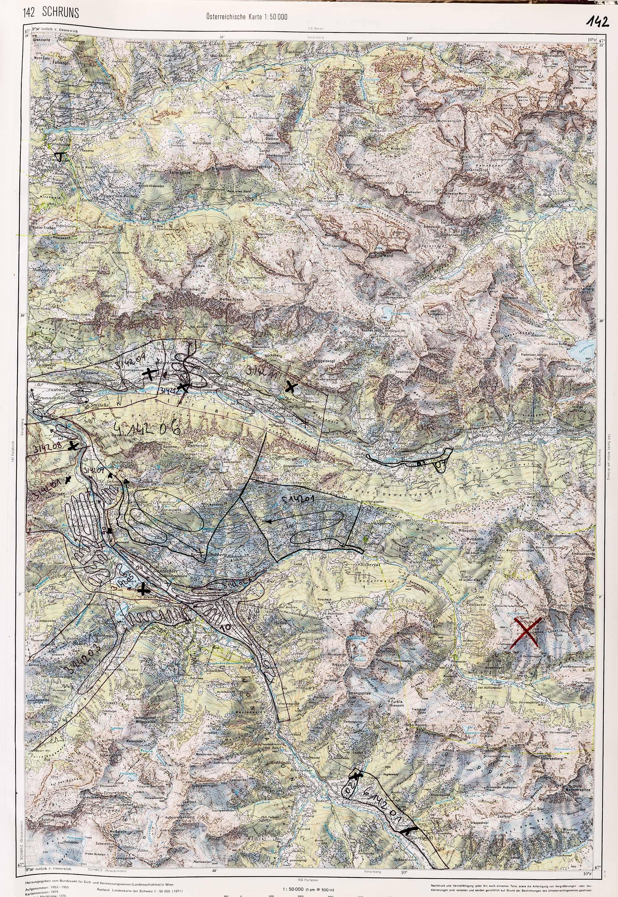 1983-1986 Karte 142
