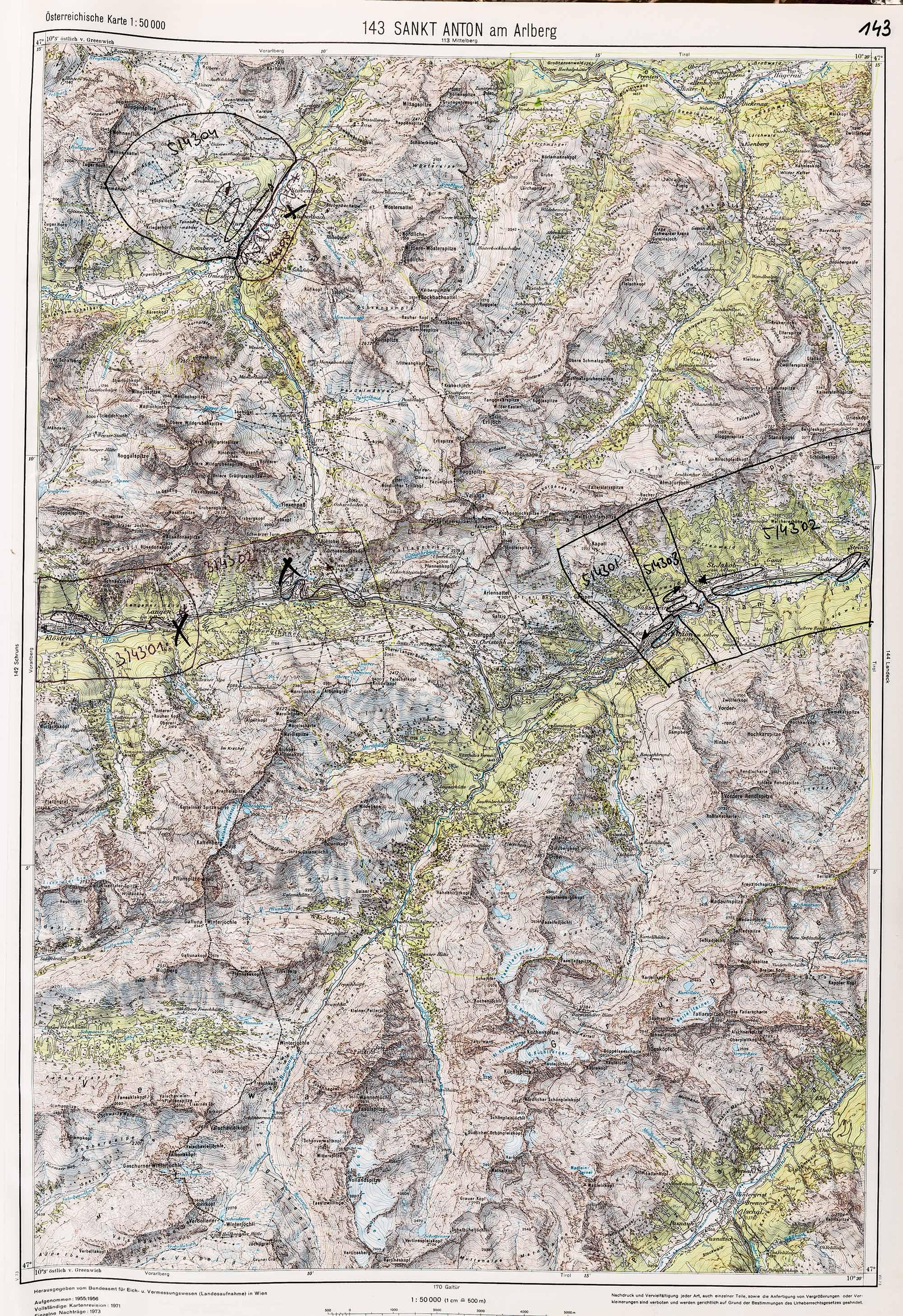 1983-1986 Karte 143