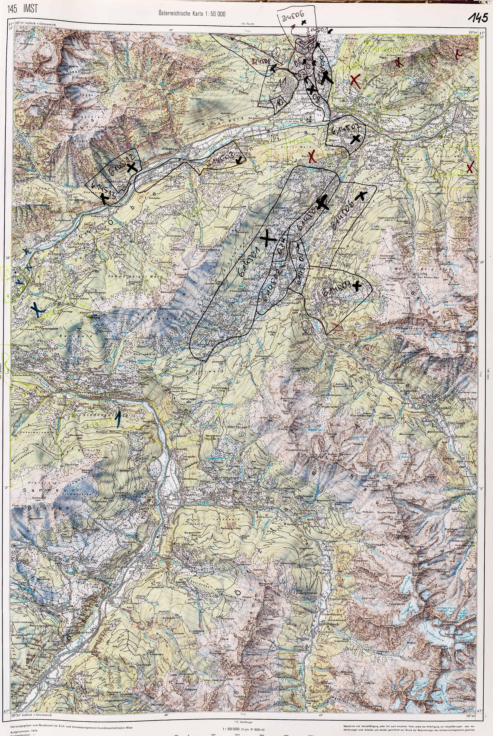 1983-1986 Karte 145