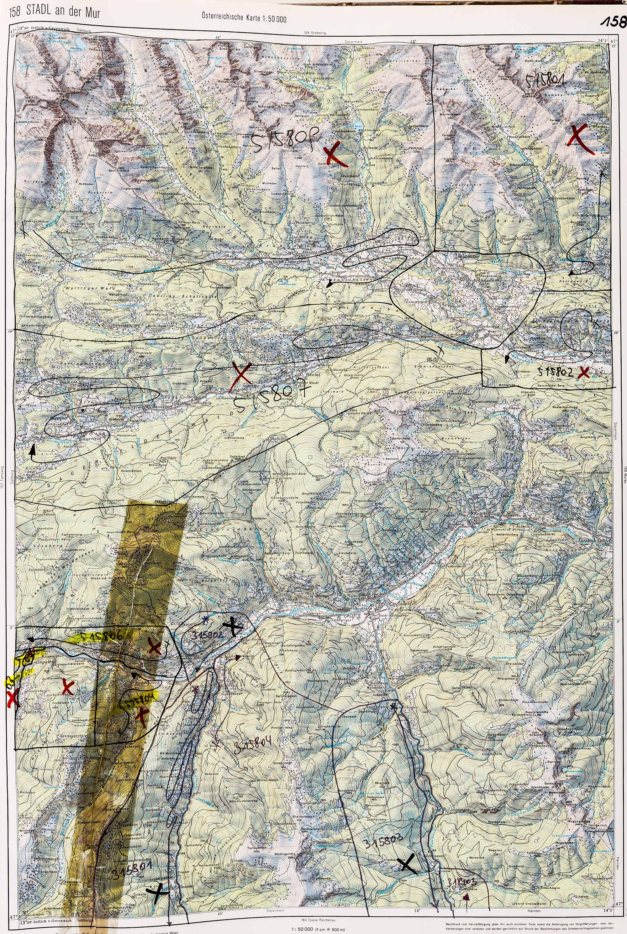 1983-1986 Karte 158