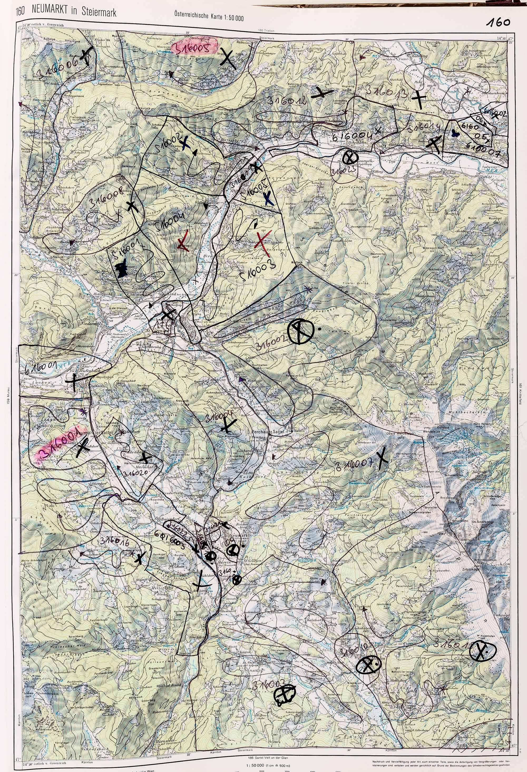 1983-1986 Karte 160