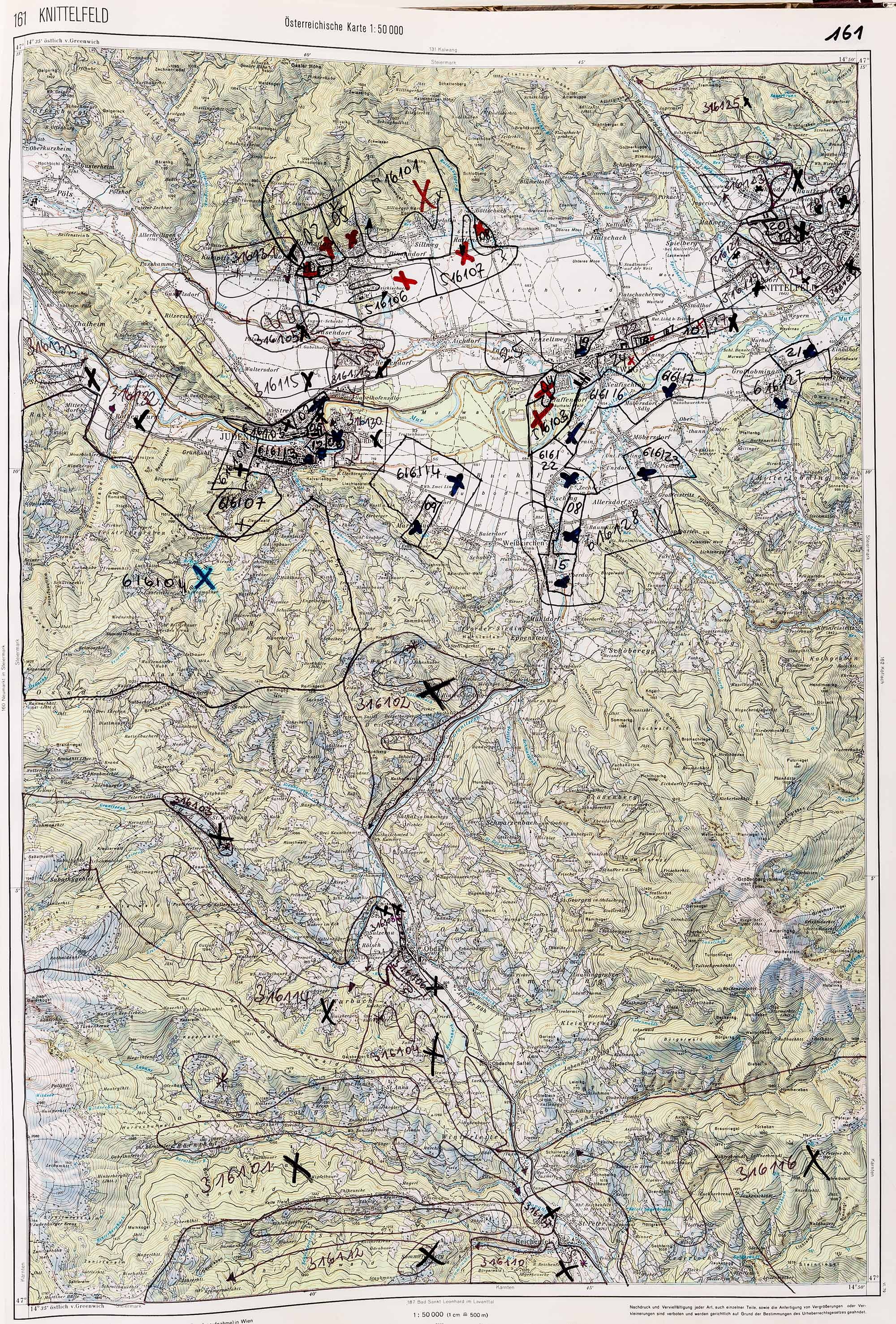 1983-1986 Karte 161