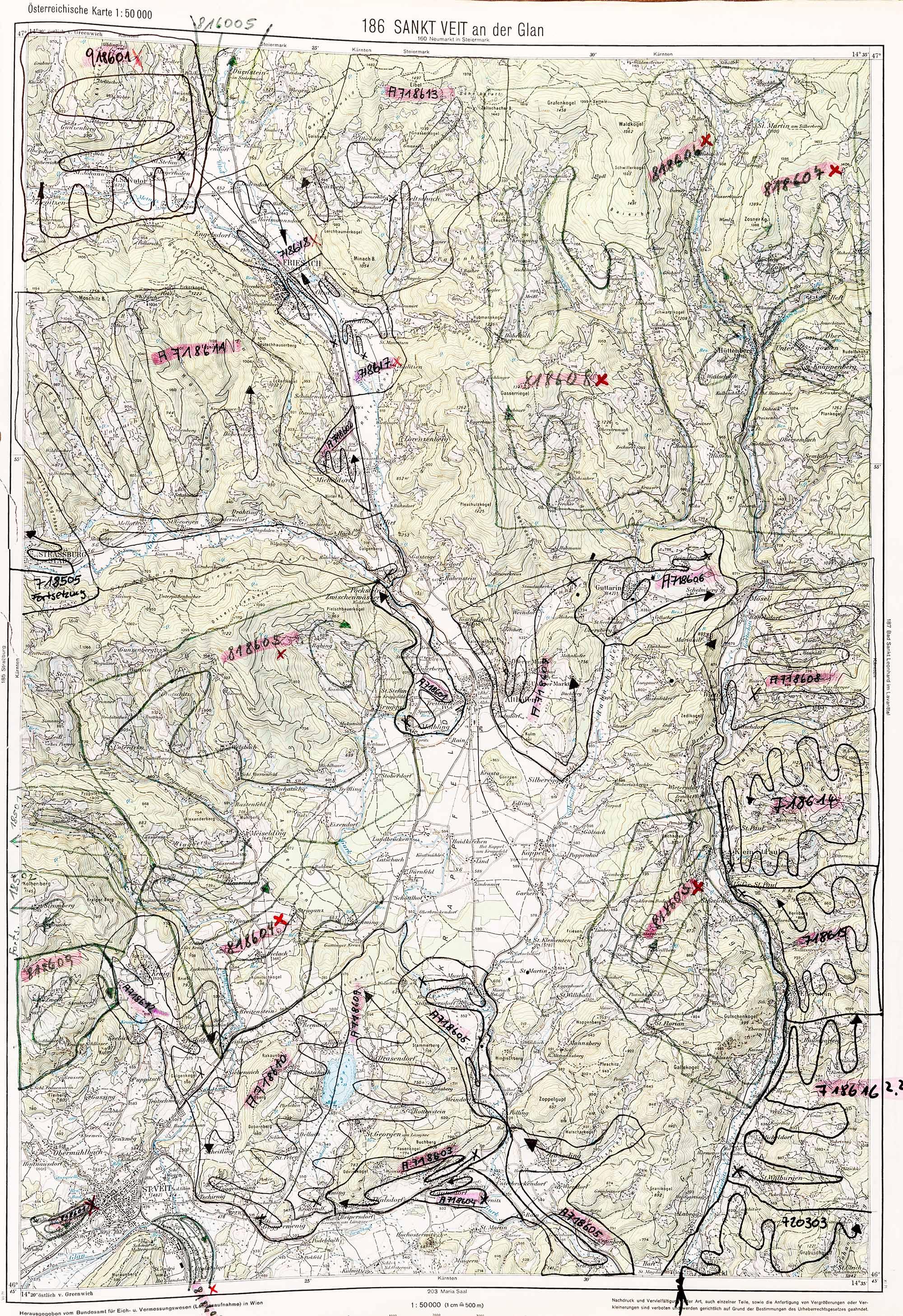1975-1979 Karte 186