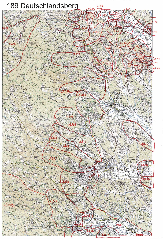 Aerofoto-I  Karte 189