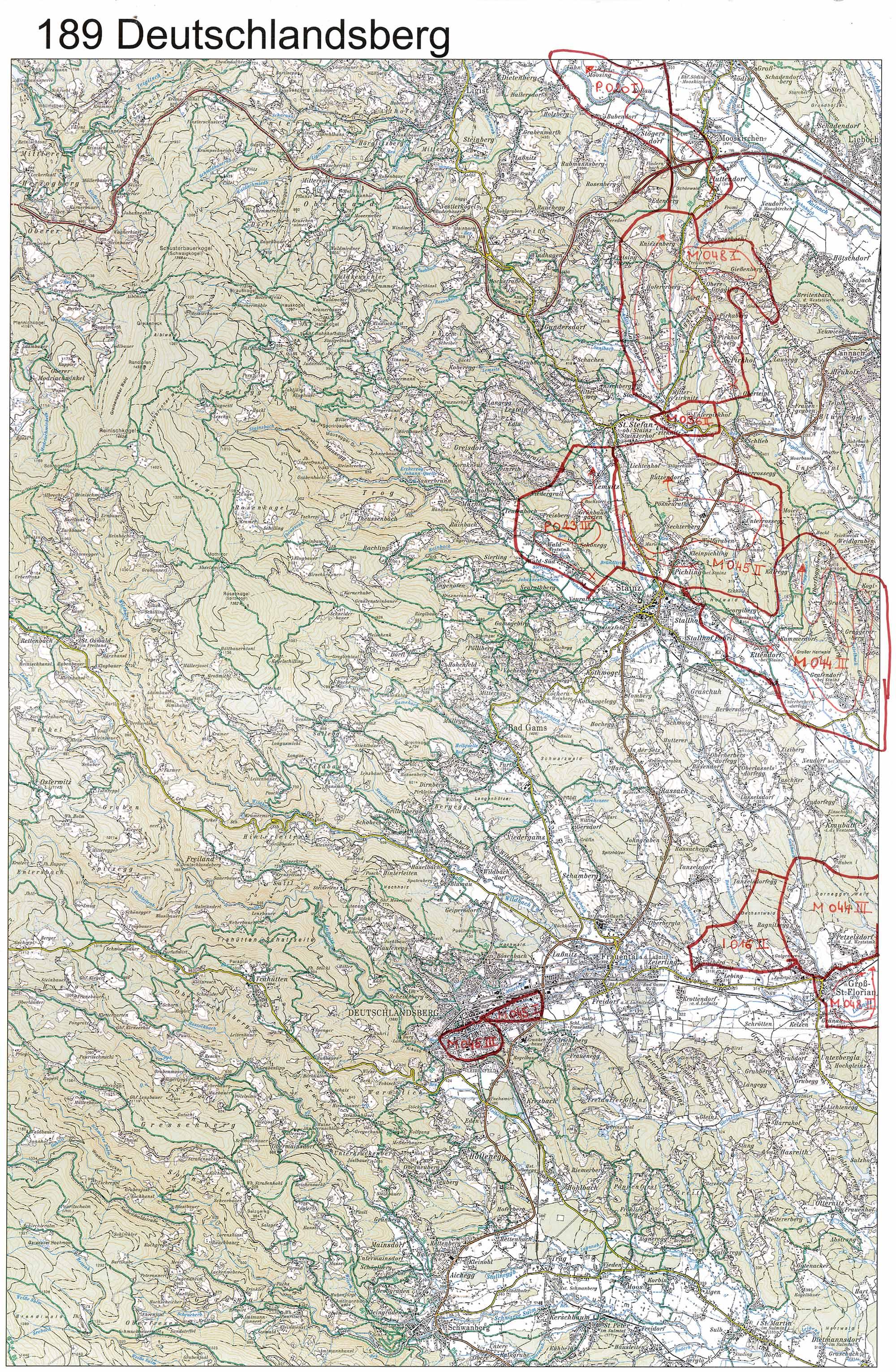 Aerofoto-II Karte 189