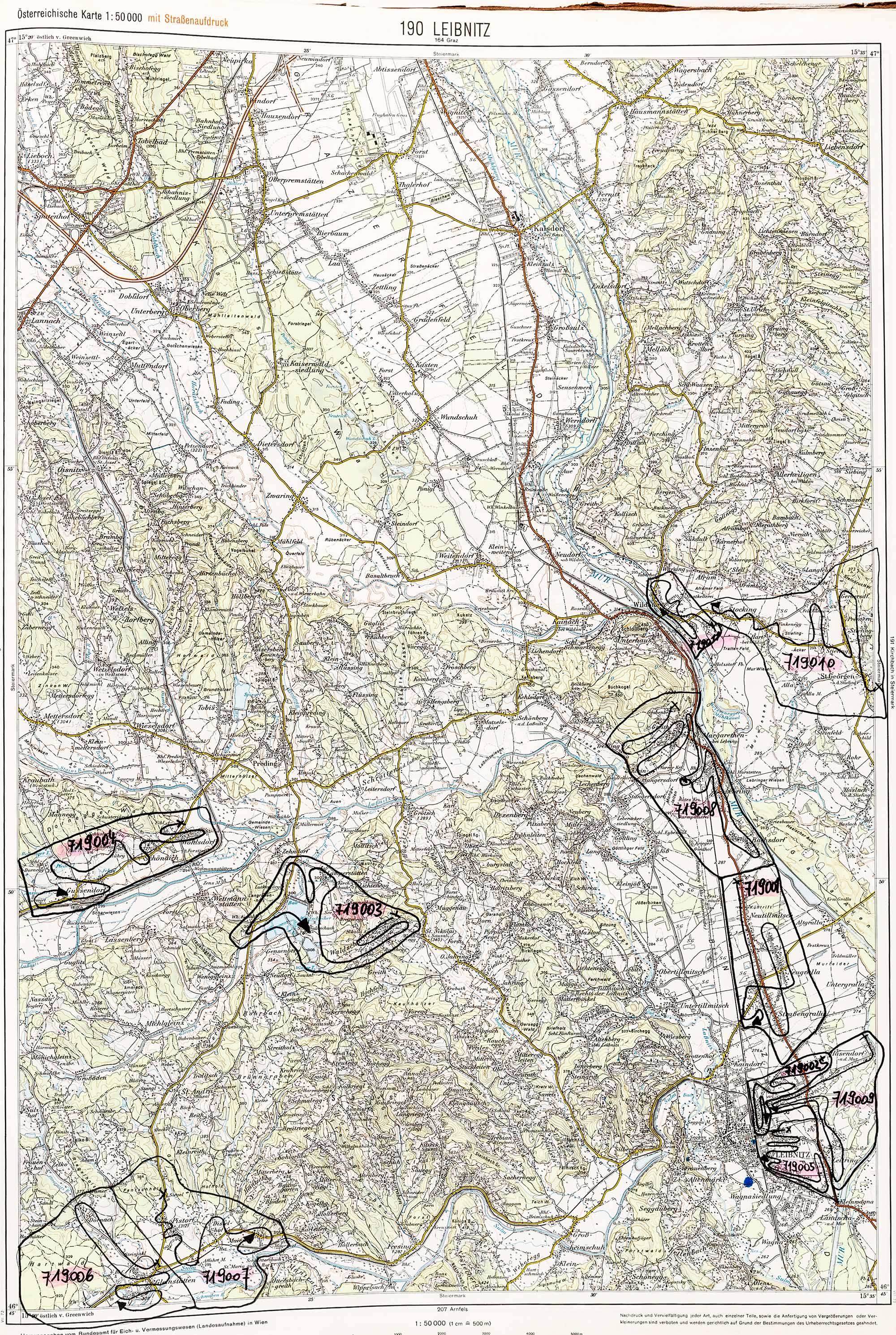 1975-1979 Karte 190