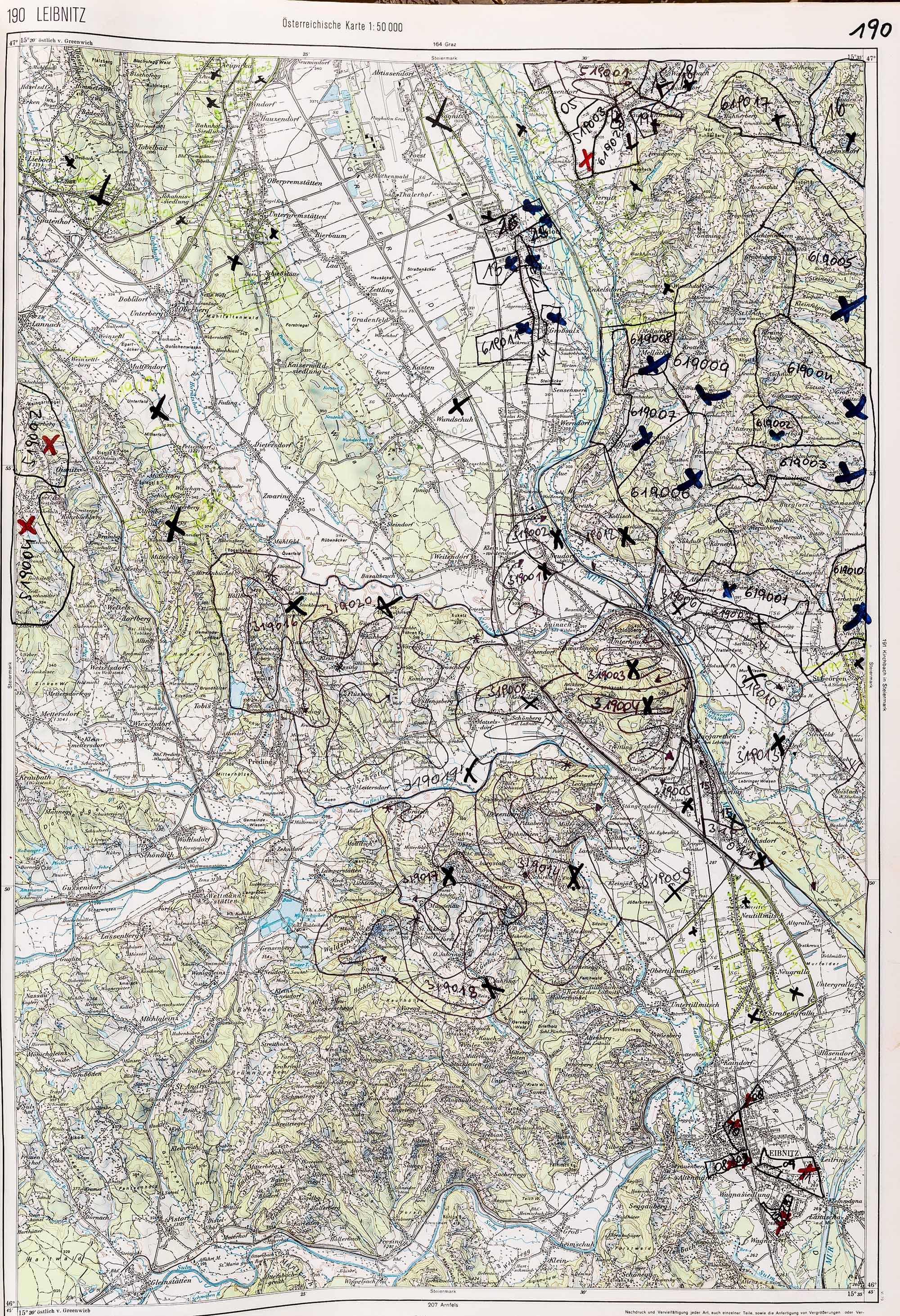1983-1986 Karte 190
