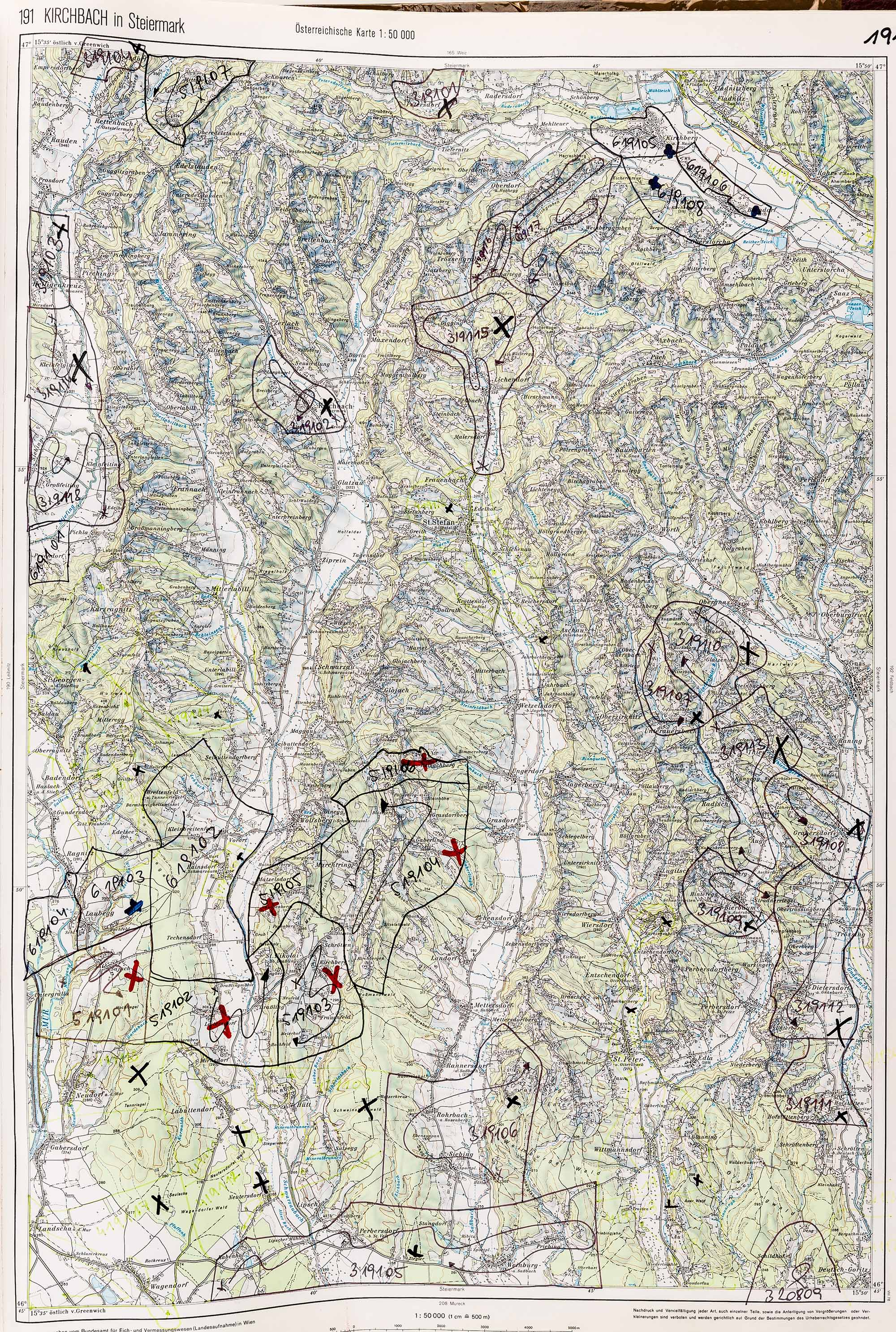 1983-1986 Karte 191