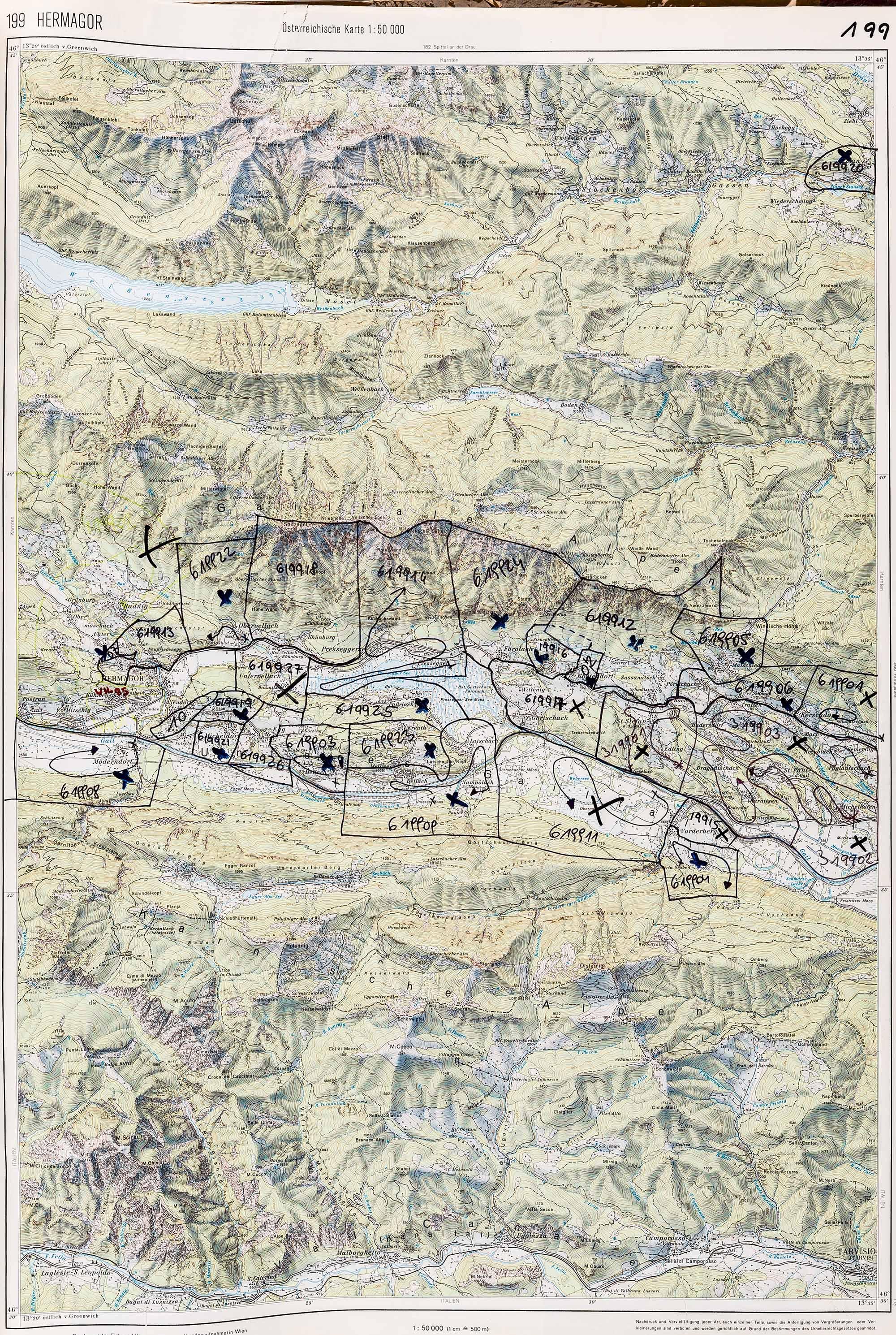 1983-1986 Karte 199