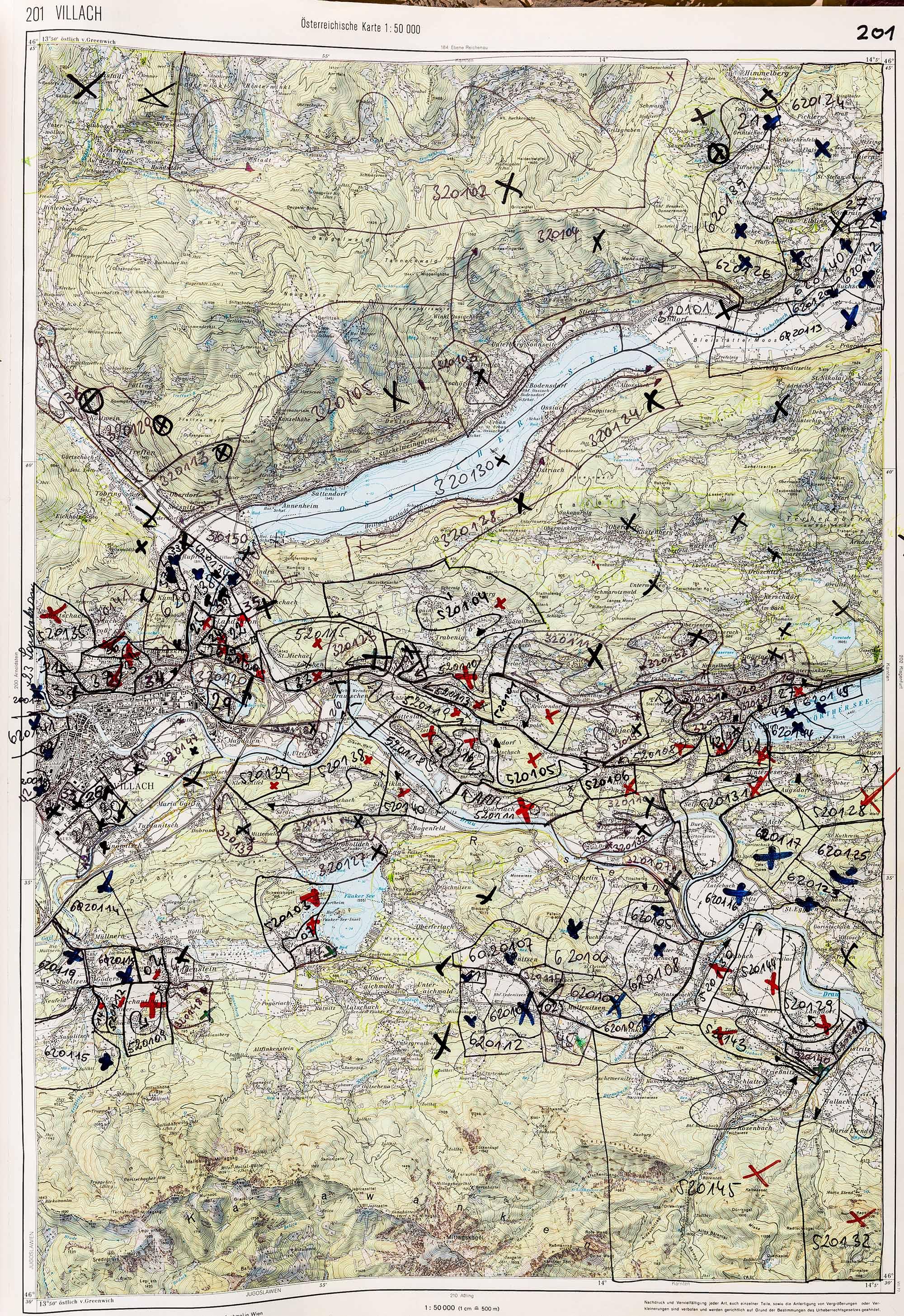 1983-1986 Karte 201