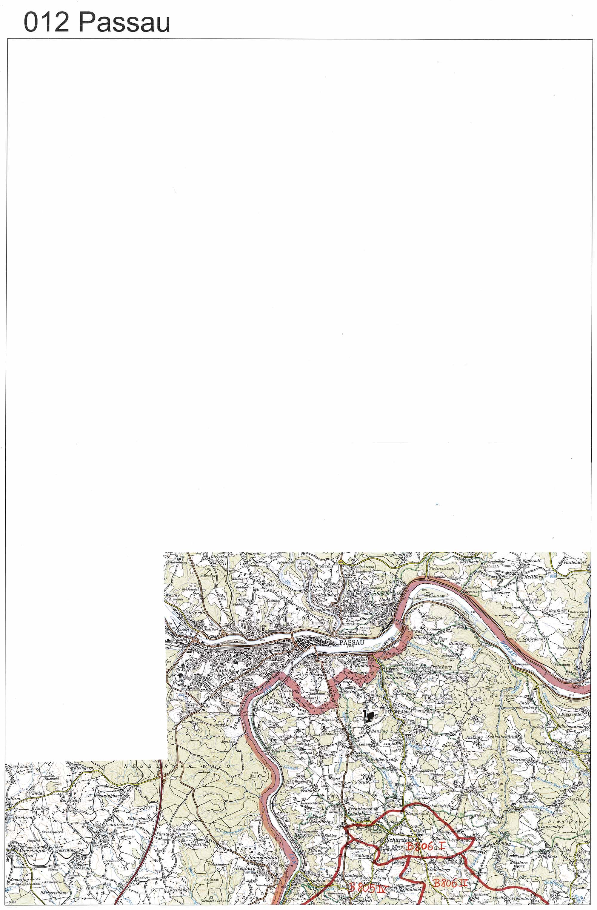aerofoto. Karte 012