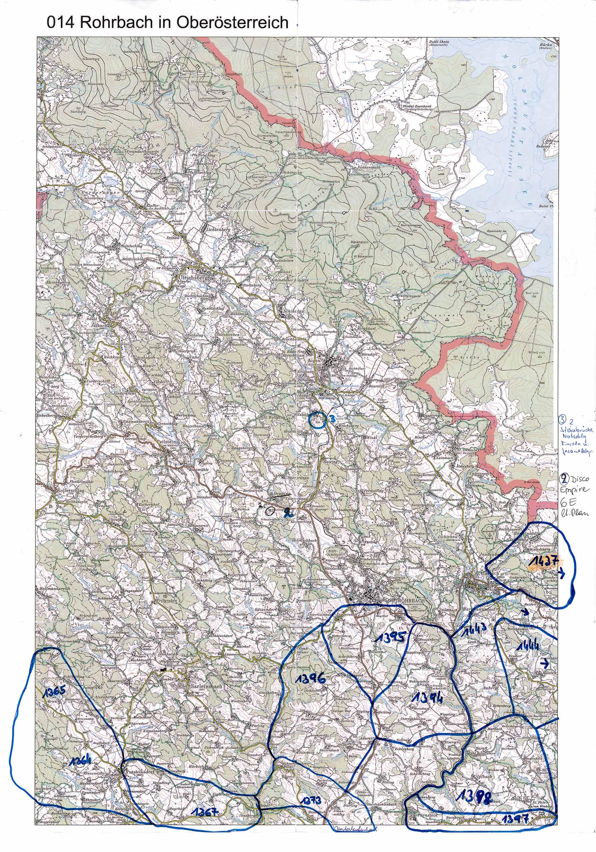 1958-1973 Karte 014 Schwarz/Weiß