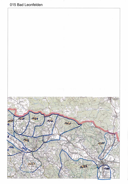 1958-1973 Karte 015 Schwarz/Weiß