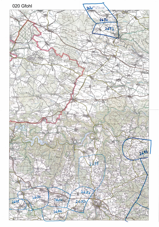1958-1973 Karte 020 Schwarz/Weiß