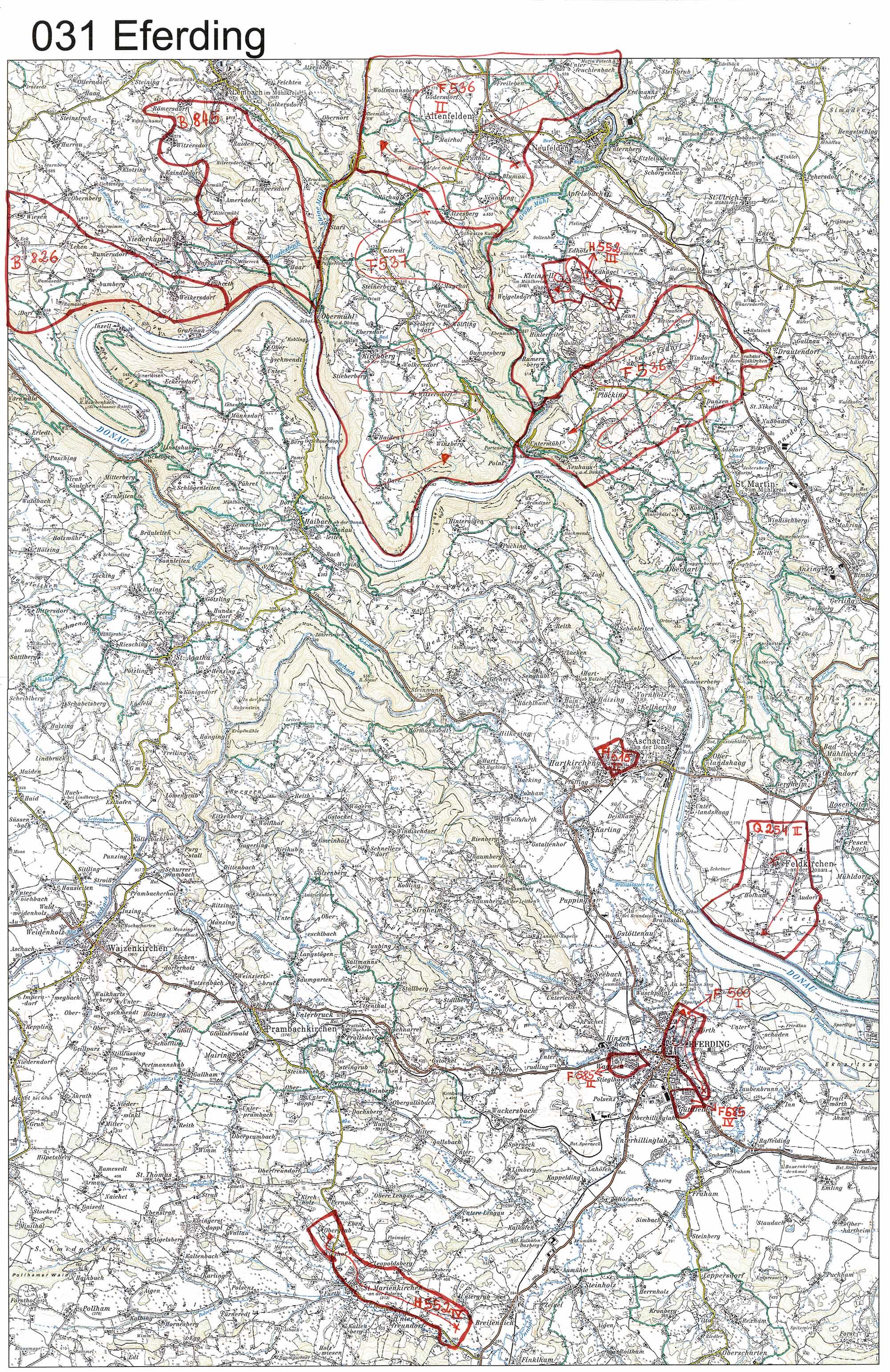aerofoto- Karte 031