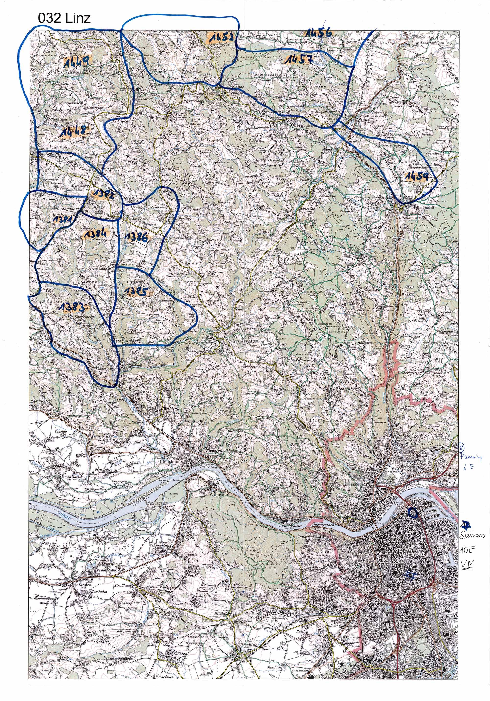 1958-1973 Karte 032 Schwarz/Weiß