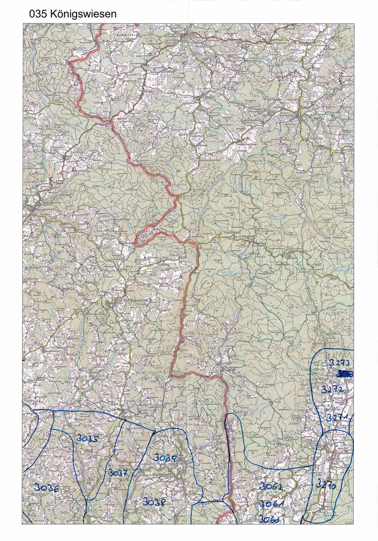 1958-1973 Karte 035 Schwarz/Weiß
