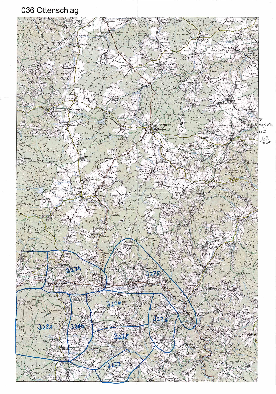 1958-1973 Karte 036 Schwarz/Weiß