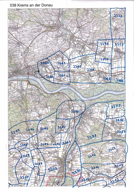 1958-1973 Karte 038 Schwarz/Weiß