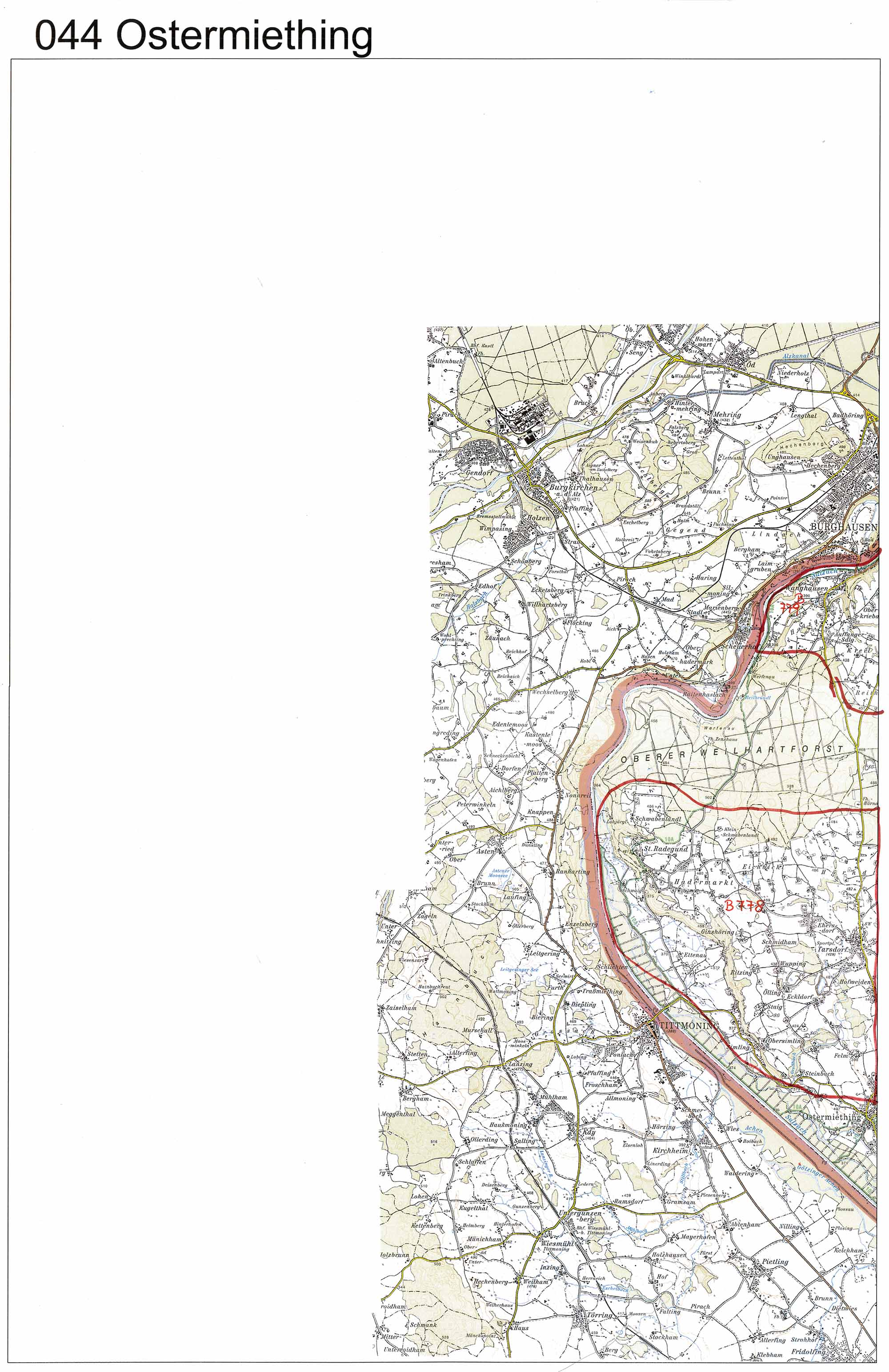 aerofoto. Karte 044