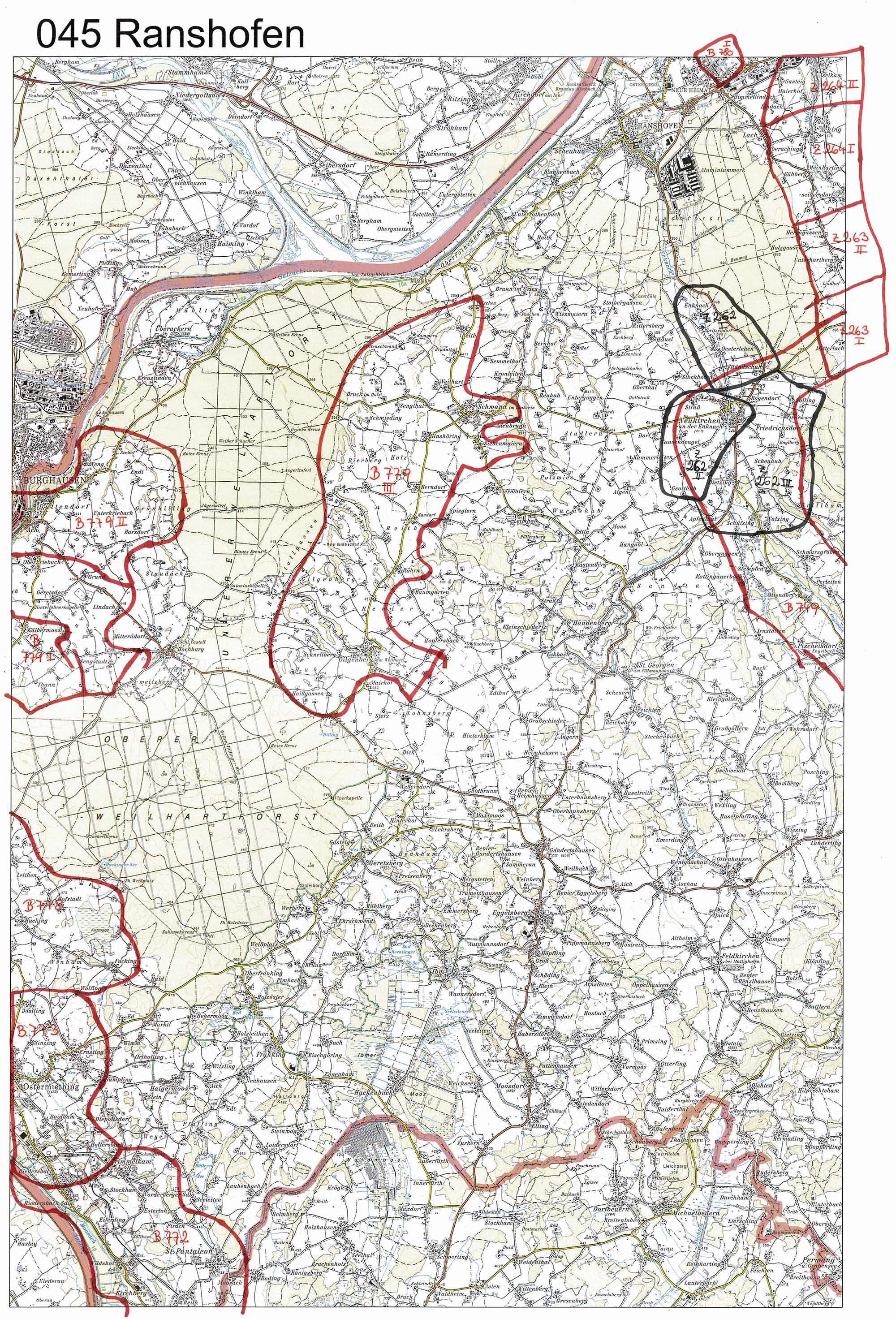 aerofoto. Karte 045