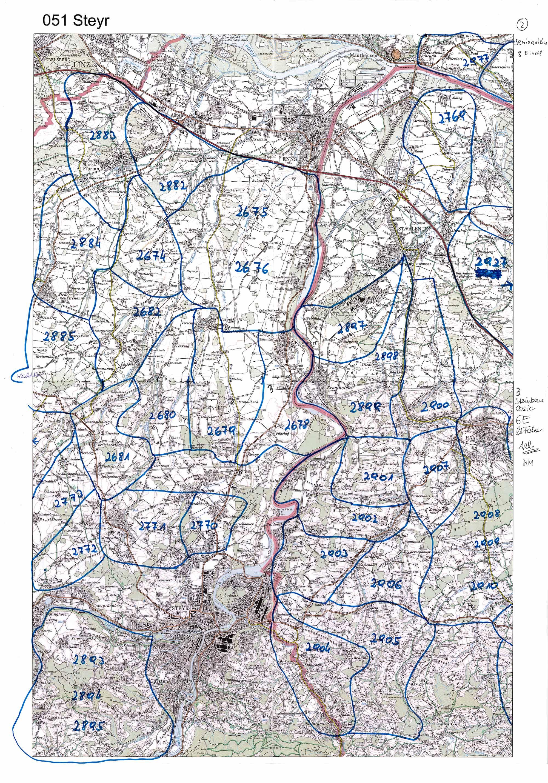 1958-1973 Karte 051 Schwarz/Weiß