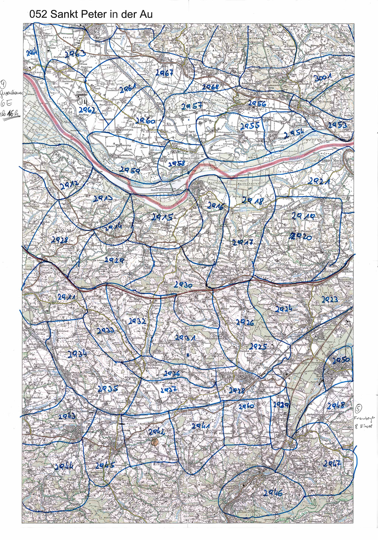 1958-1973 Karte 052 Schwarz/Weiß