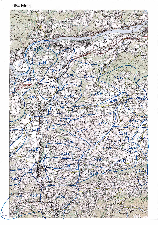 1958-1973 Karte 054 Schwarz/Weiß