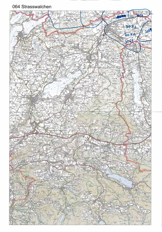 1958-1973 Karte 064 Schwarz/Weiß