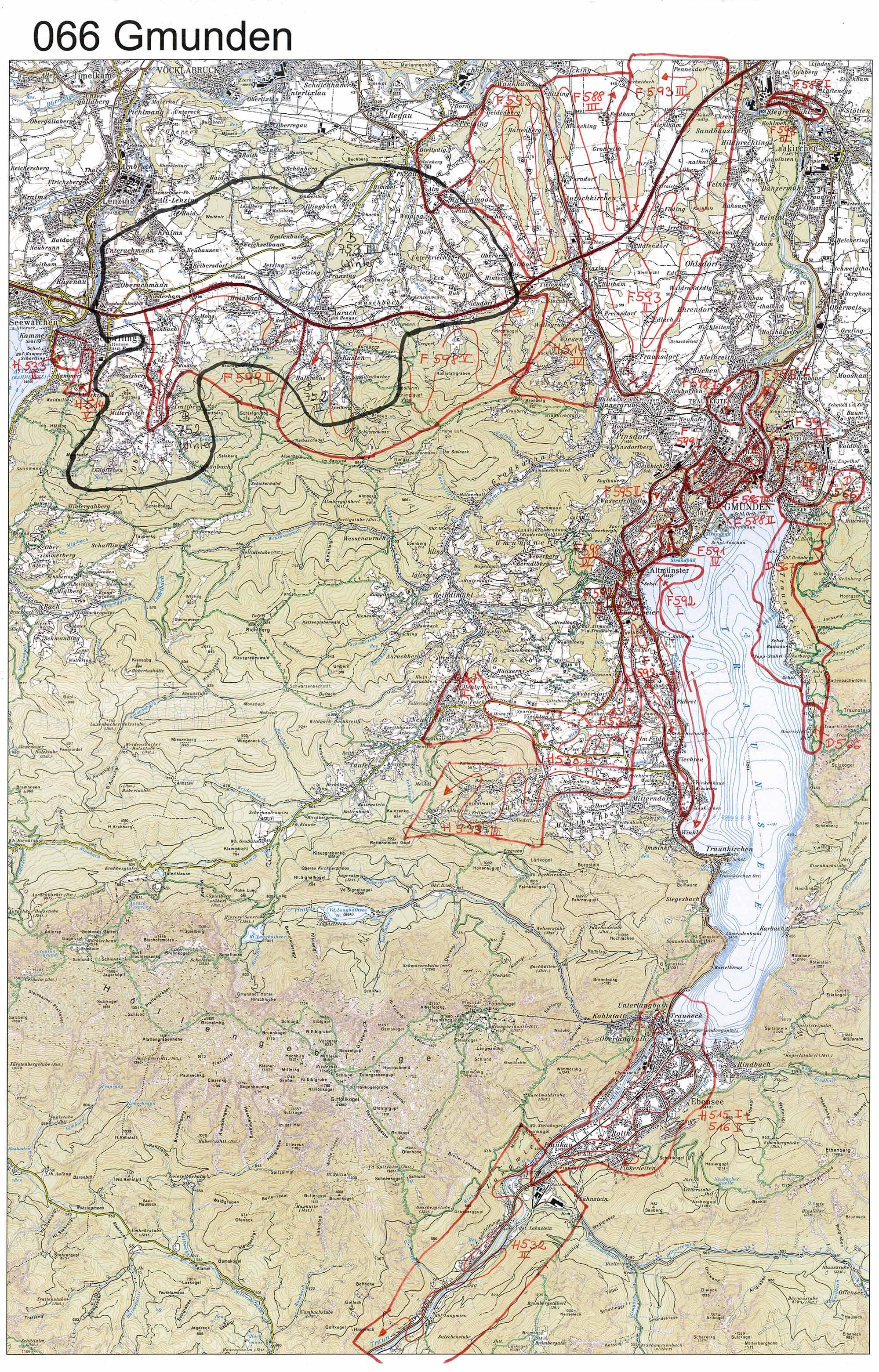 aerofoto. Karte 066