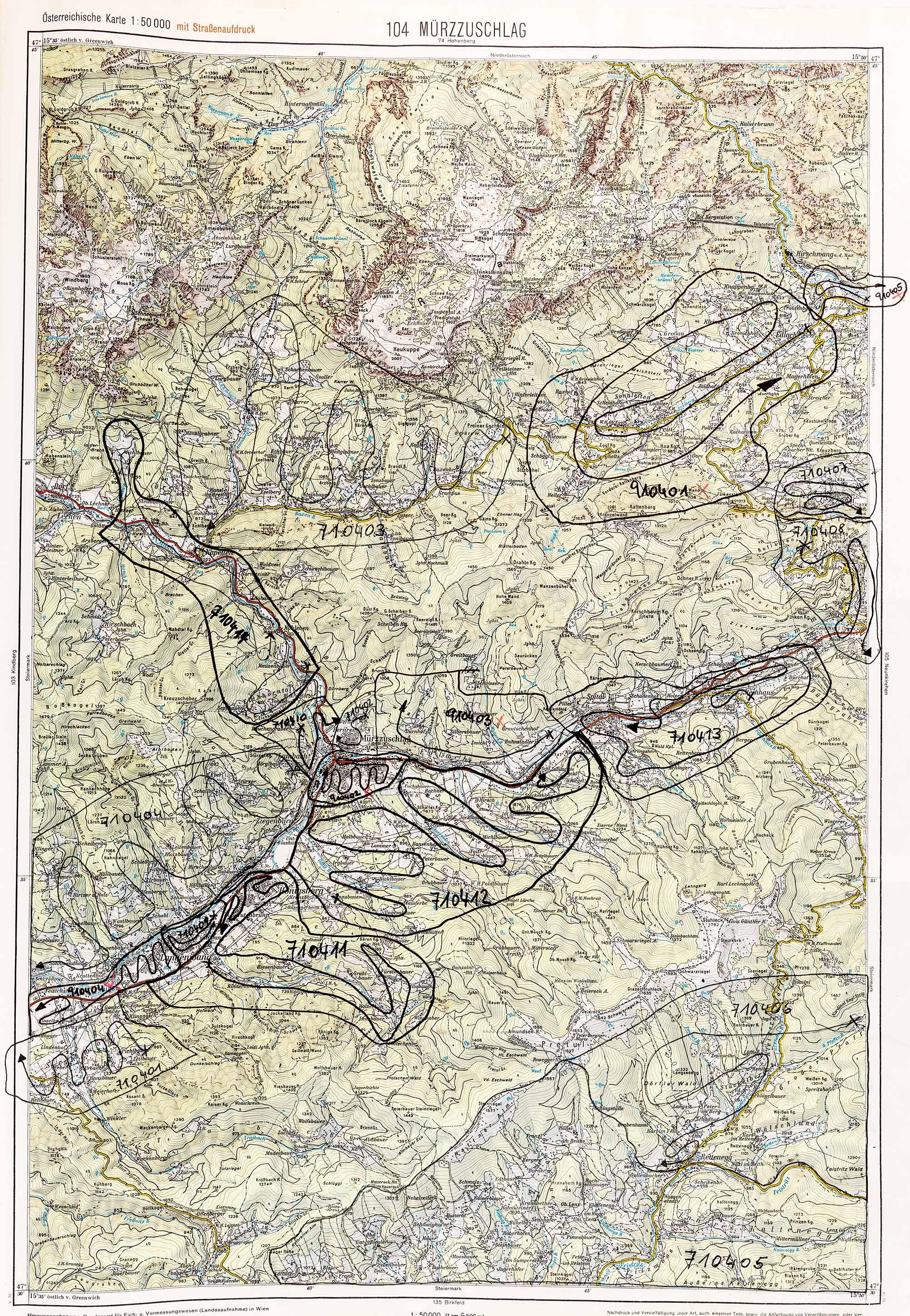 1975-1979 Karte 104