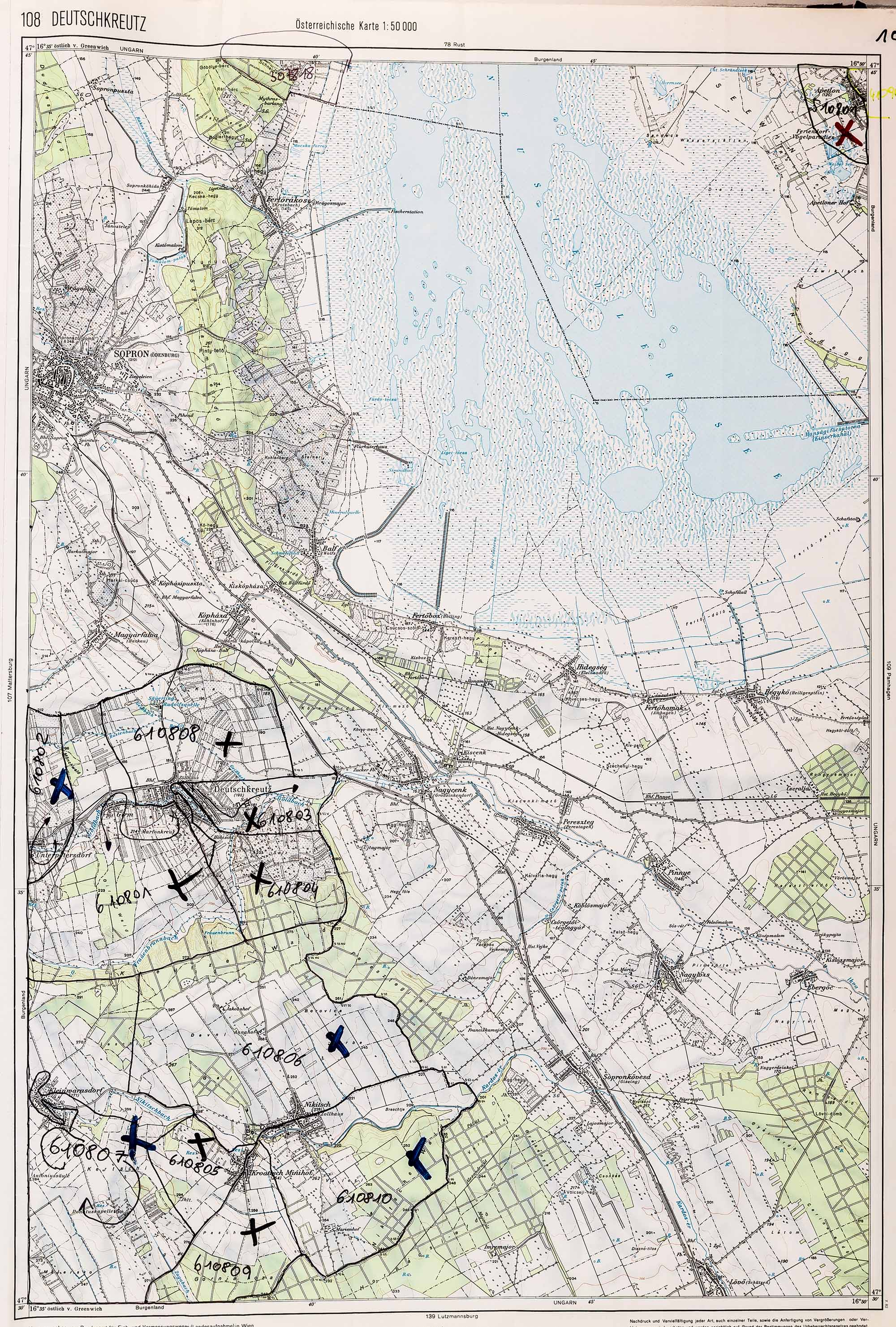 1983-1986 Karte 108