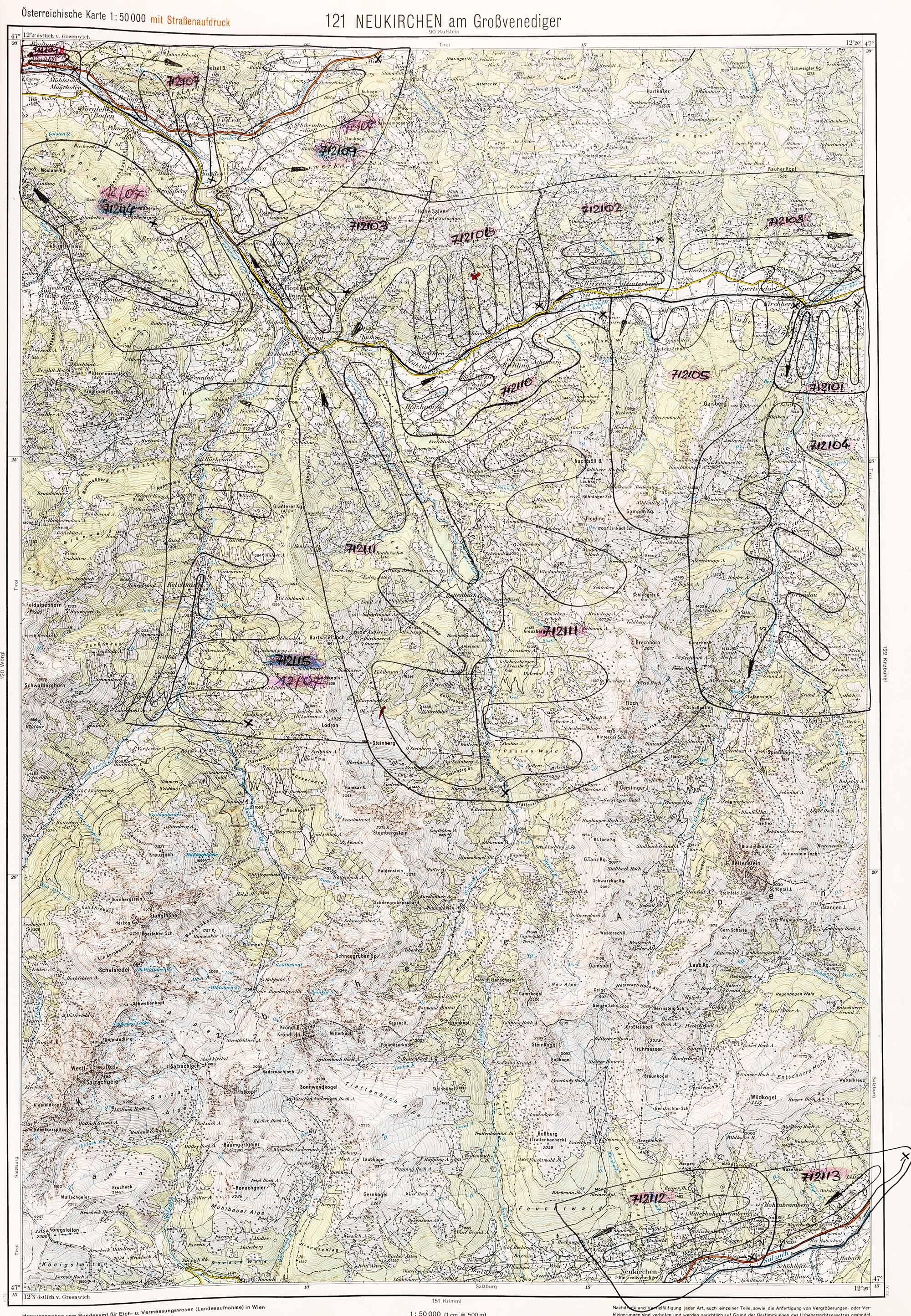 1975-1979 Karte 121