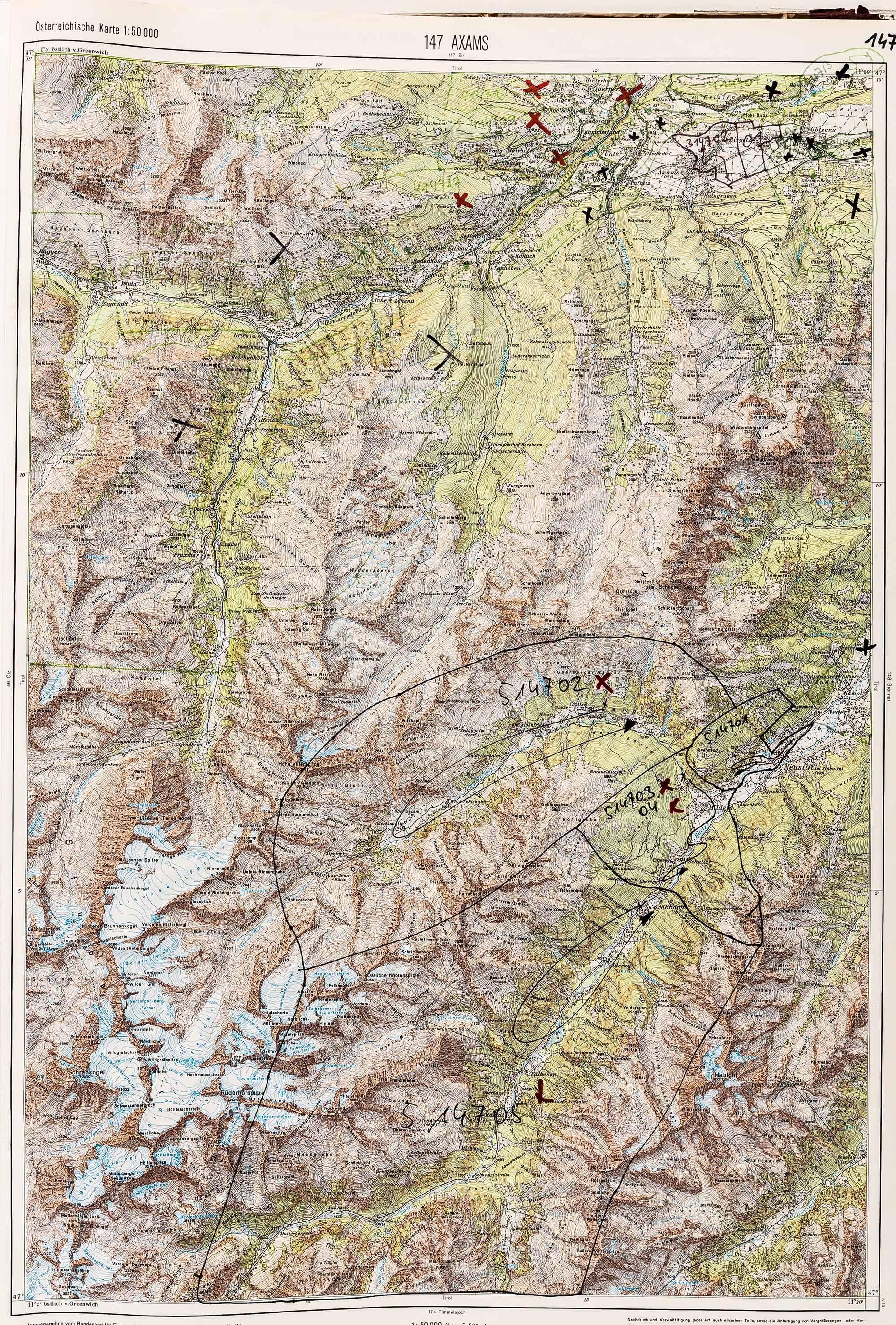 1983-1986 Karte 147